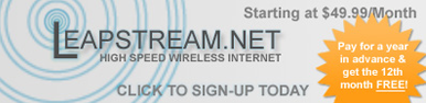 LeapStream High Speed Internet